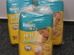Pampers New Baby Newborn 2-5 kg 2x56= 112 Stück